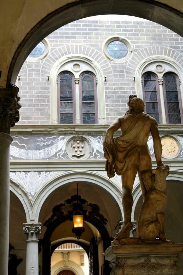 Palazzo Medici Riccardi en Florencia, Italia fotografía de archivo