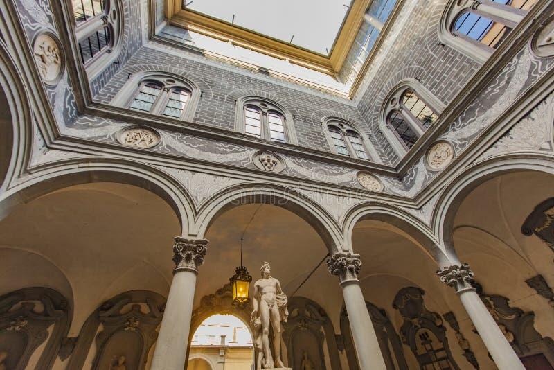 Palazzo Medici Riccardi a Firenze fotografie stock libere da diritti