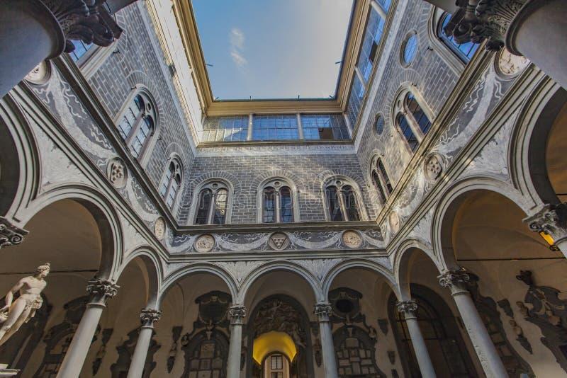 Palazzo Medici Riccardi a Firenze, Italia fotografia stock