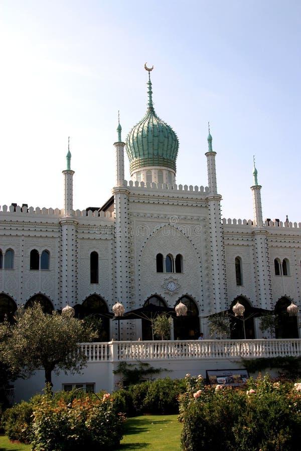 Palazzo-moschea fotografia stock libera da diritti