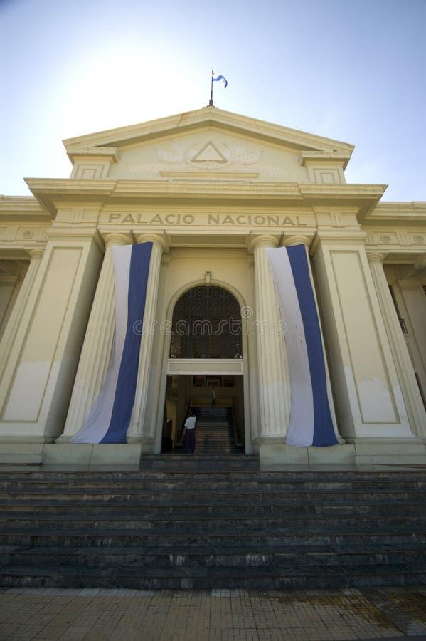 Palazzo nazionale Managua fotografia stock libera da diritti
