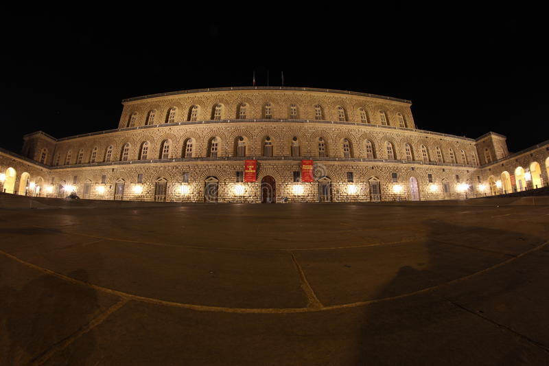 Palazzo Pitti in Florence, Tuscany, Italy stock image