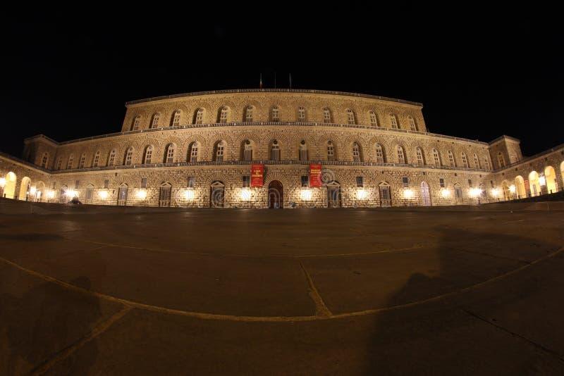 Palazzo Pitti w Florencja, Tuscany, Włochy obraz stock