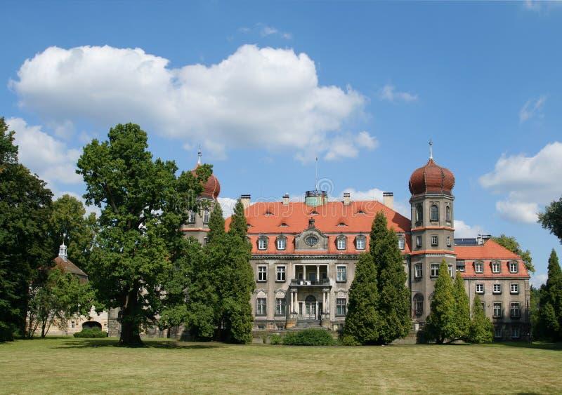 Palazzo polacco immagini stock libere da diritti