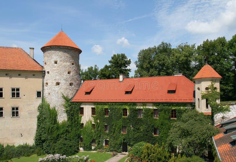 Palazzo in Polonia fotografia stock libera da diritti