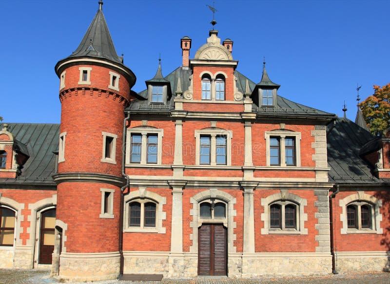 Palazzo in Polonia immagini stock libere da diritti