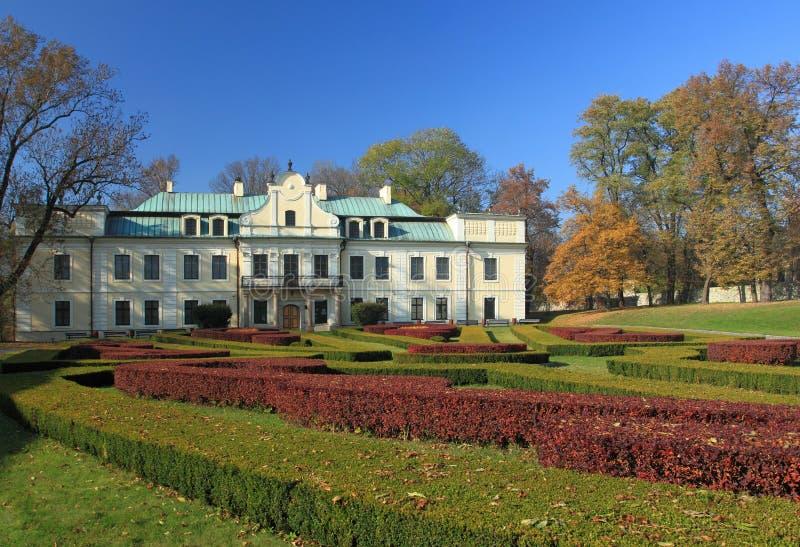 Palazzo in Polonia fotografia stock