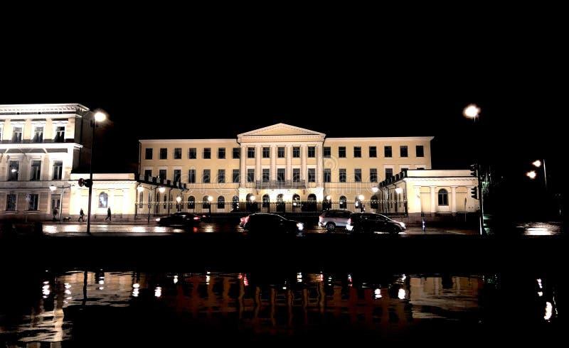 Palazzo presidenziale di Helsinki fotografia stock libera da diritti
