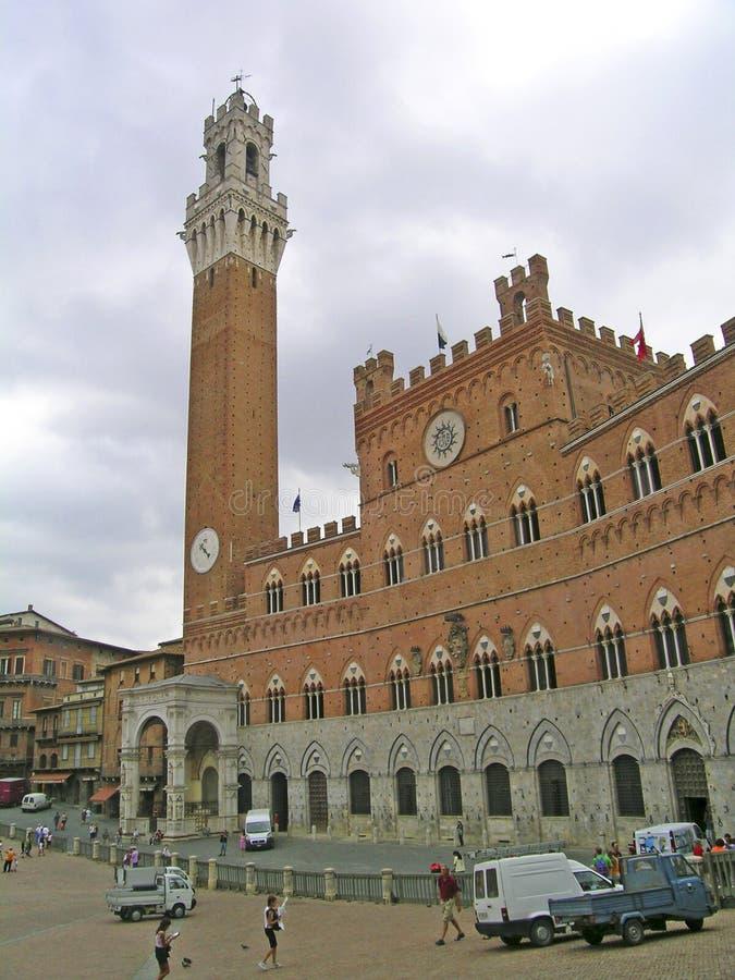 Palazzo Pubblico fotos de stock