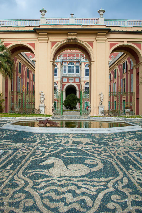 Palazzo Reale à Gênes photographie stock
