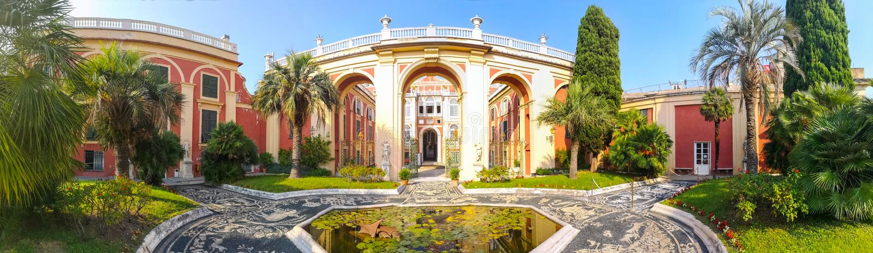 Palazzo Reale στη Γένοβα, Ιταλία στοκ φωτογραφία με δικαίωμα ελεύθερης χρήσης
