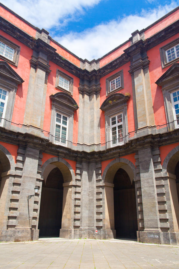 Palazzo Reale di Capodimonte royalty free stock images