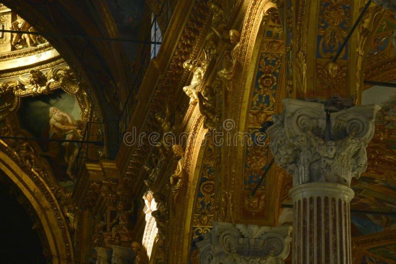 Palazzo reale di Genova, Genoa, Italy. One of the main attractions royalty free stock image