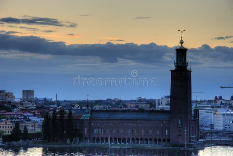 Palazzo reale di Stoccolma immagine stock libera da diritti