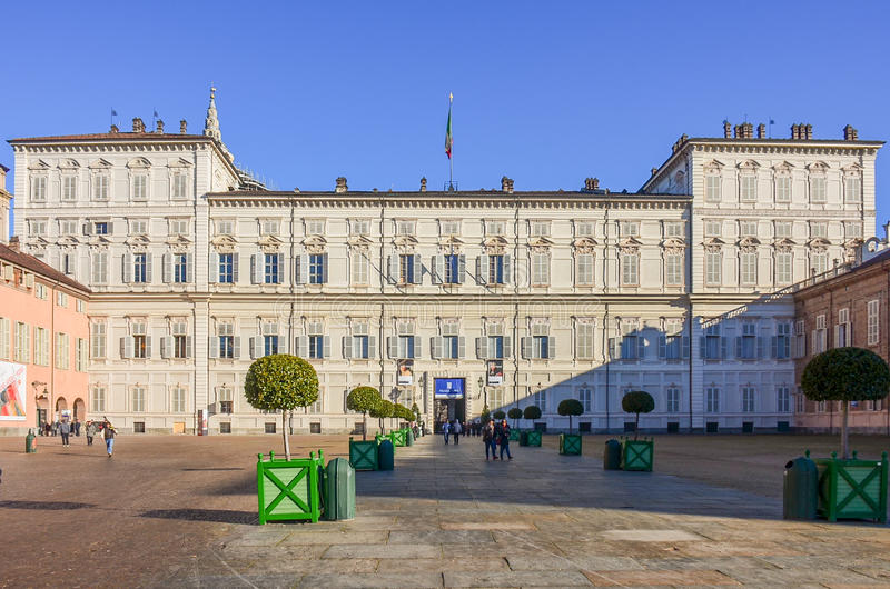 The Royal Palace Of Turin Or Palazzo Reale Di Torino Is A