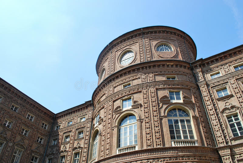 Palazzo Reale en Torino fotos de archivo libres de regalías