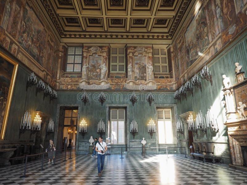 Palazzo Reale en Turín fotografía de archivo libre de regalías