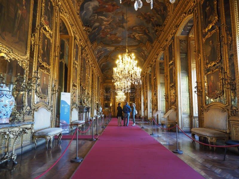 Palazzo Reale en Turín fotos de archivo libres de regalías