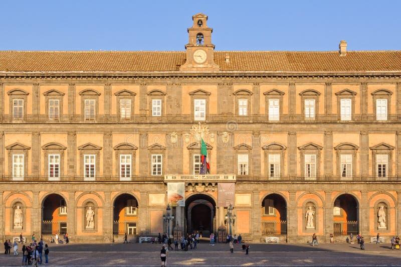 Palazzo Reale - Napoli photo libre de droits