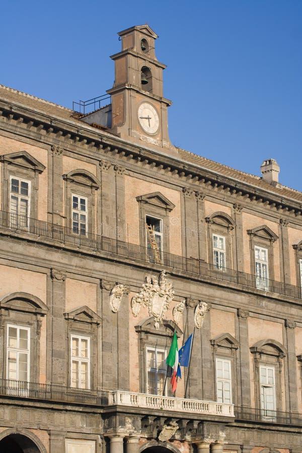 Palazzo Reale, Neapel stockfoto