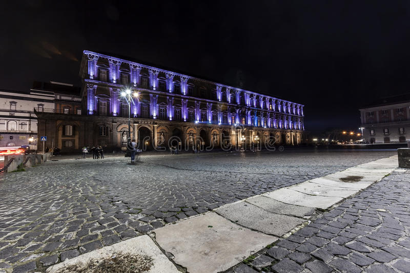 Download Palazzo Reale, Piazza Plebiscito , Naples Editorial Photography - Image: 28602402