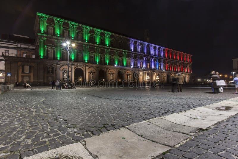 Download Palazzo Reale, Piazza Plebiscito , Naples Editorial Stock Photo - Image: 28602478