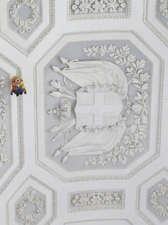 Palazzo Reale - Royal Palace à Naples, Italie image libre de droits