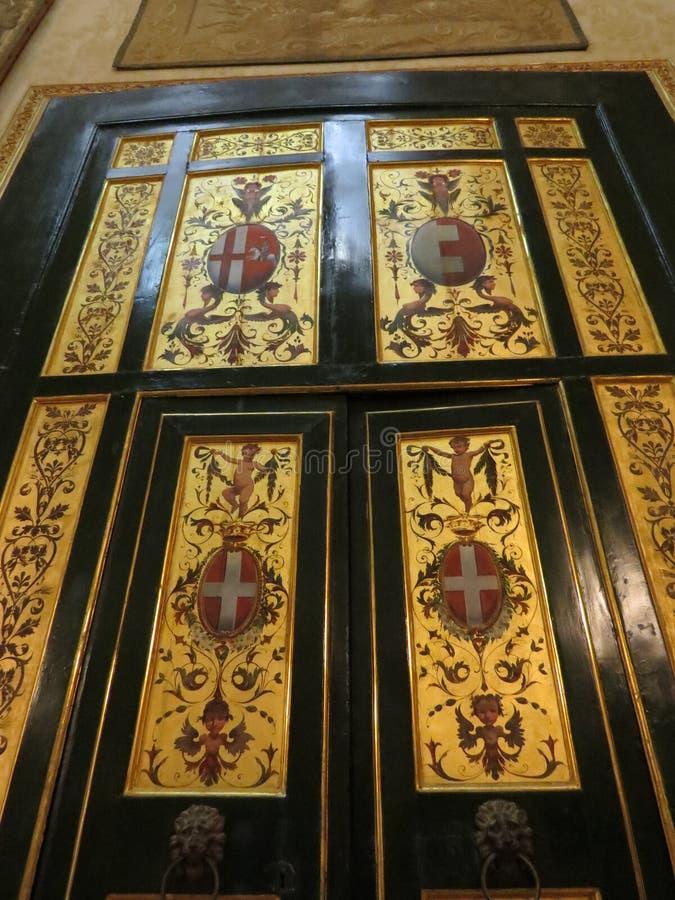 Palazzo Reale - Royal Palace στη Νάπολη, Ιταλία στοκ φωτογραφίες με δικαίωμα ελεύθερης χρήσης