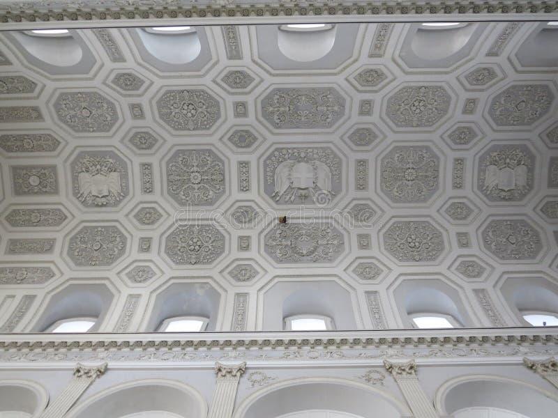 Palazzo Reale - Royal Palace στη Νάπολη, Ιταλία στοκ φωτογραφία