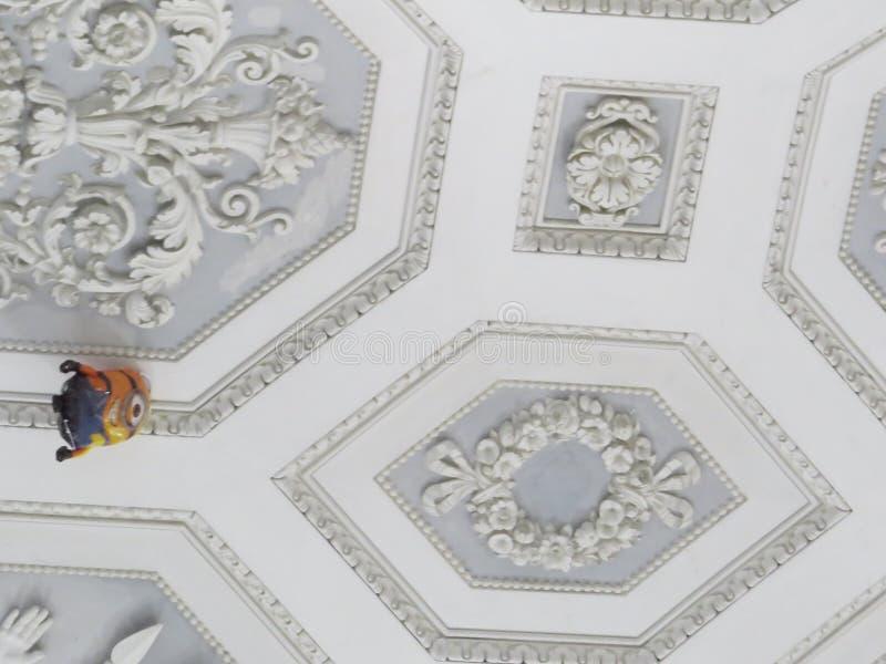 Palazzo Reale - Royal Palace στη Νάπολη, Ιταλία στοκ φωτογραφίες