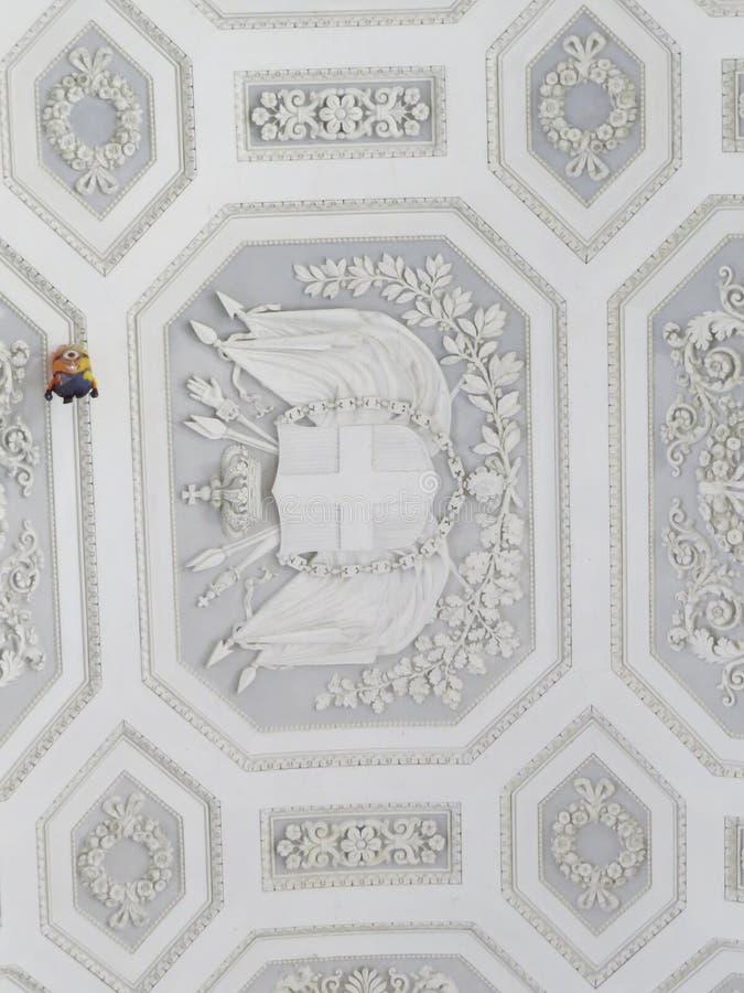 Palazzo Reale - Royal Palace στη Νάπολη, Ιταλία στοκ φωτογραφία με δικαίωμα ελεύθερης χρήσης