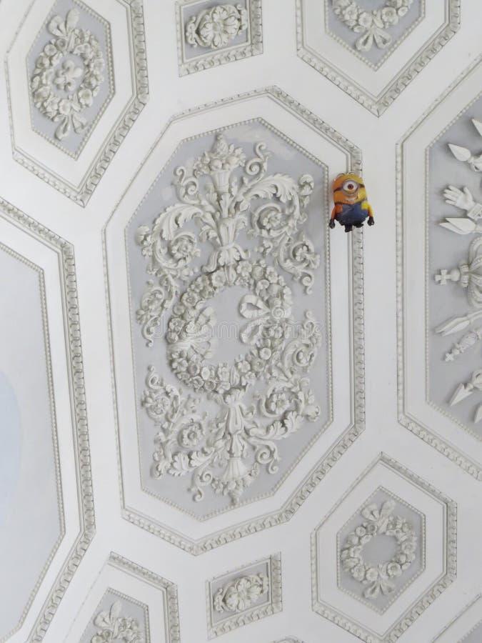 Palazzo Reale - Royal Palace στη Νάπολη, Ιταλία στοκ εικόνες