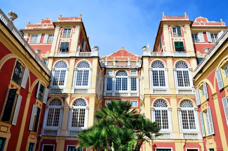 Palazzo reale. (Royal Palace), Genoa Italy royalty free stock photo