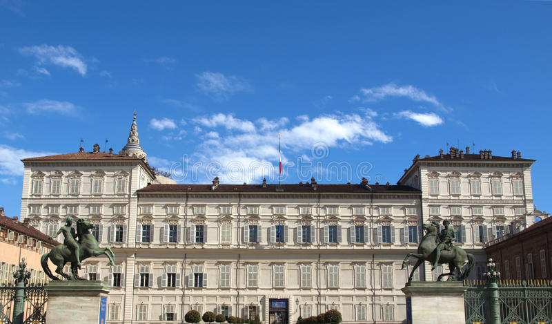 Palazzo Reale, Turin imagem de stock royalty free