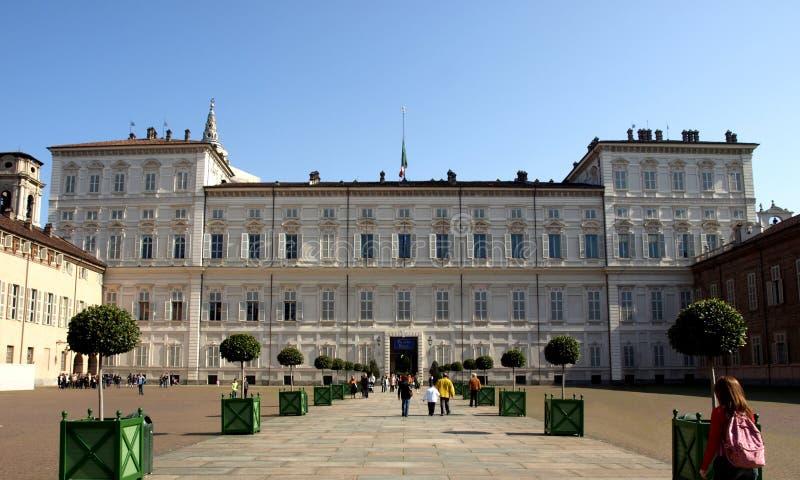 Palazzo Reale, Turin stockfoto