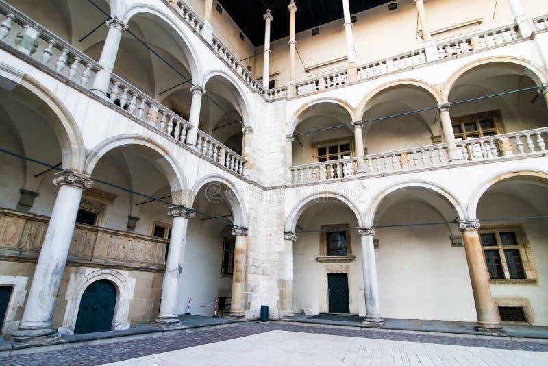 Palazzo reale in Wawe immagini stock