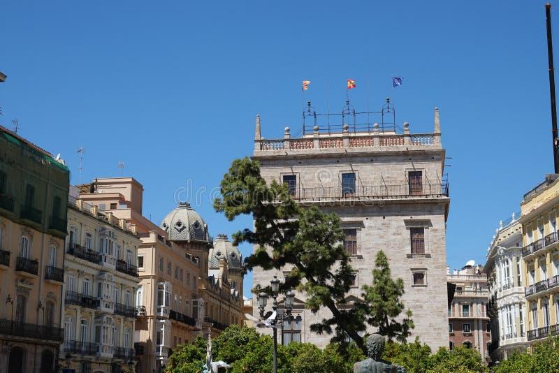 Palazzo regionale di governo di Valencia in Spagna fotografia stock libera da diritti