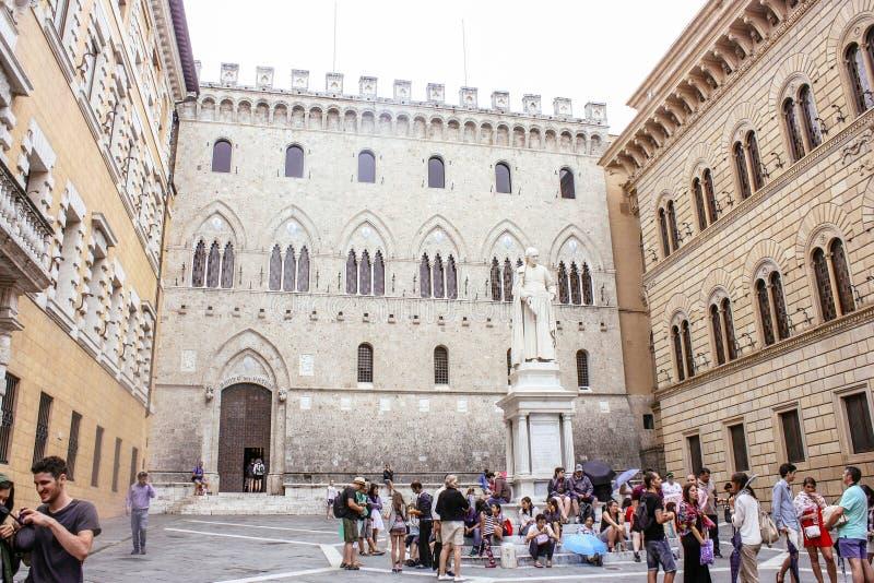 Palazzo Salimbeni, Siena zdjęcie stock