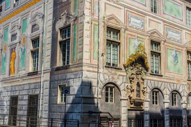 Palazzo San Giorgio di Genova La Liguria, Italia fotografie stock