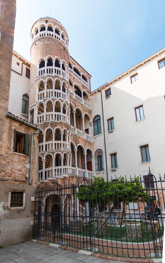 Palazzo, scala contarini del bovolo στοκ φωτογραφίες με δικαίωμα ελεύθερης χρήσης