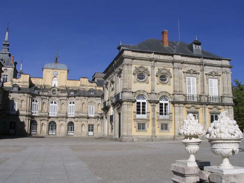 Palazzo, Segovia, Spagna immagini stock libere da diritti