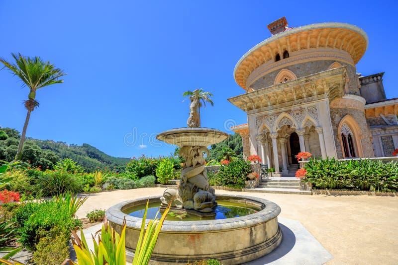 Palazzo Sintra di Monserrate immagine stock libera da diritti