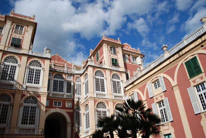 Palazzo Stefano Balbi στοκ φωτογραφίες με δικαίωμα ελεύθερης χρήσης