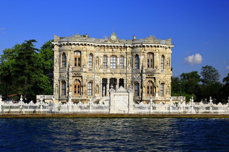 Palazzo storico di Goksu, Costantinopoli fotografie stock