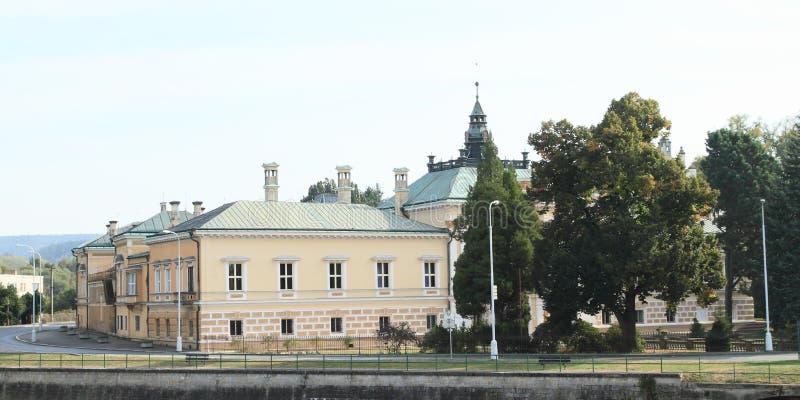 Palazzo in Svetla nad Sazavou fotografia stock libera da diritti