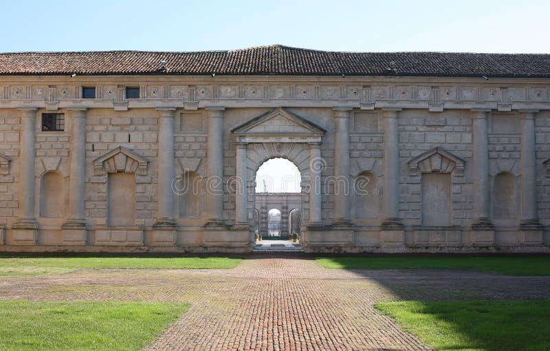 Palazzo Te fotografie stock