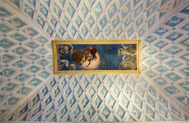 Palazzo Te em Mantua foto de stock royalty free