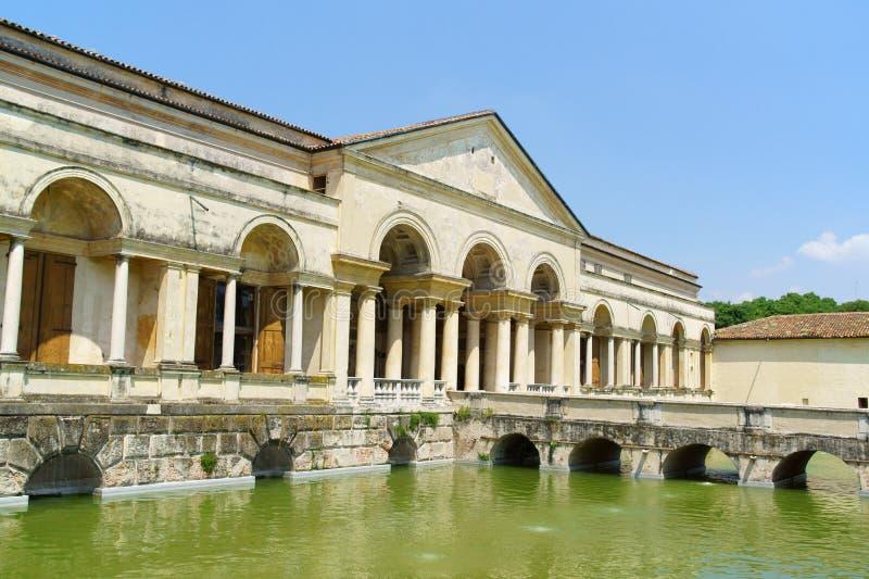Palazzo Te i Mantua, Italien royaltyfri foto