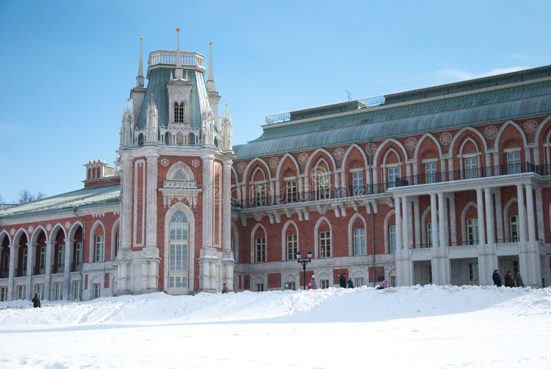 Palazzo Tsaritsyno immagini stock libere da diritti