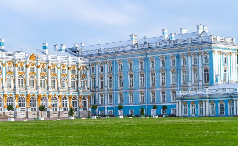 Palazzo Tsarskoe Selo St Petersburg Russia di Catherine's fotografia stock libera da diritti